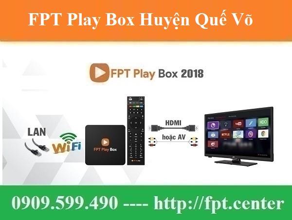 Bán FPT Play Box Huyện Quế Võ tỉnh Bắc Ninh Chính Hãng Uy Tín