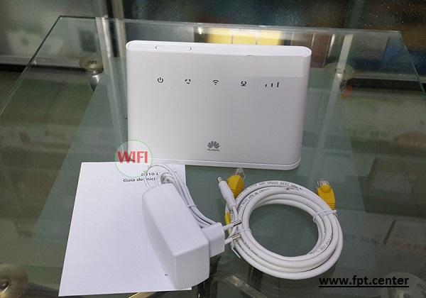 Modem WiFi 3G/4G Huawei 310s-22 tốc độ 150Mbps - Đính kèm