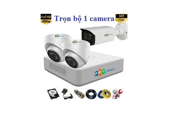 Lắp Đặt Trọn Bộ 1 Camera Wifi Fpt Giá Rẻ Chưa Từng Thấy