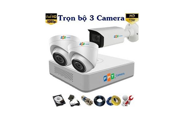 Thi Công Trọn Bộ 3 Camera Fpt Giá Vô Cùng Rẻ