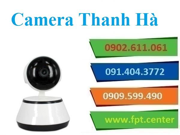 Lắp đặt camera huyện Thanh Hà giá chỉ 6 triệu Đồng