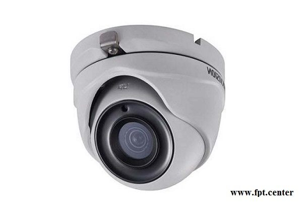 Camera HD-TVI Hikvision DS-2CE56H1T-ITM bán cầu 5 MP
