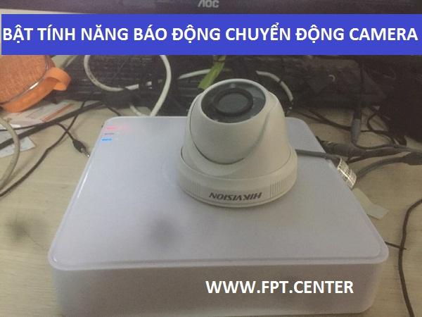 Mở phát hiện chuyển động trên hệ thống camera Hikvison bằng cách nào