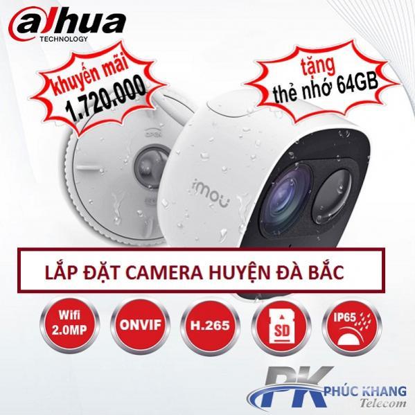 Lắp đặt camera chống trộm huyện Đà Bắc