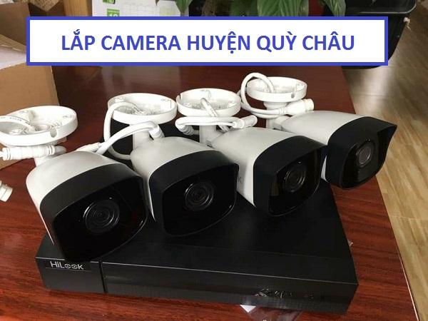 Lắp đặt camera quan sát huyện Quỳ Châu