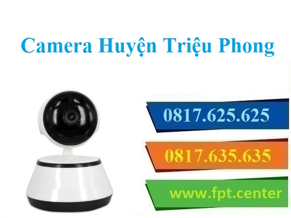 Lắp Đặt Camera Quan Sát Huyện Triệu Phong Giá Rẻ Chỉ 5,9 Triệu