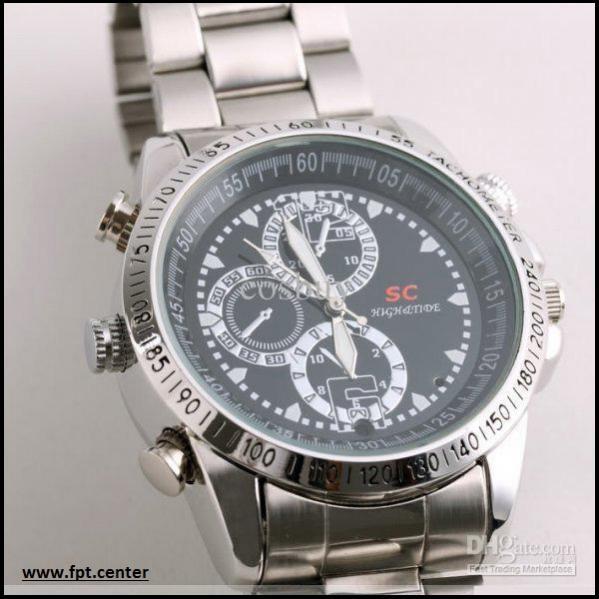 Camera quay lén ngụy trang đồng hồ đeo tay