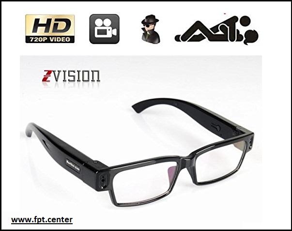 Camera ngụy trang mắt kính V13 Full HD quay lén