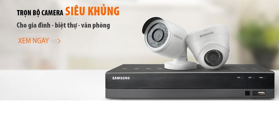 Đầu ghi hình SamSung, đầu ghi camera SamSung, camera SamSung, camera IP WiFi SamSung