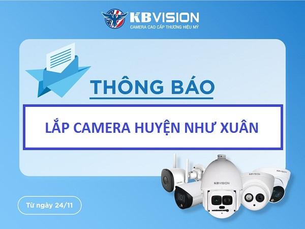 Dịch vụ lắp đặt camera quan sát huyện Như Xuân nhanh chóng