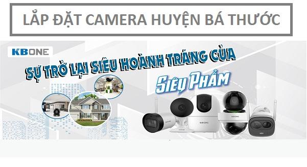 Lắp đặt camera quan sát huyện Bá Thước với giá ưu đãi lớn