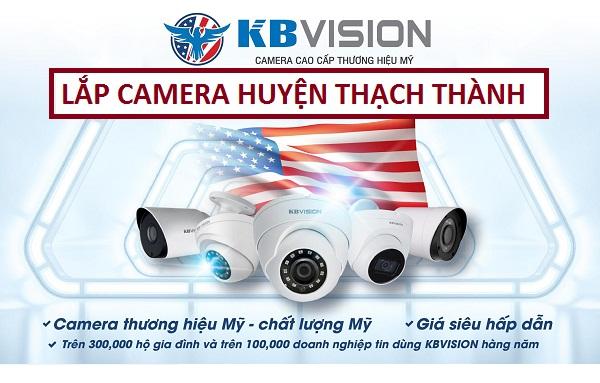 Lắp đặt camera giám sát huyện Thạch Thành với giá khuyến mãi