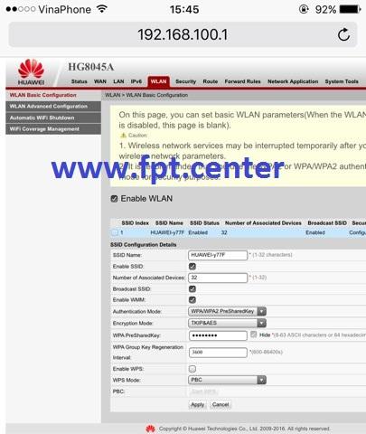 Cách Cài Đặt & Cấu hình modem VNPT Huawei HG8045A