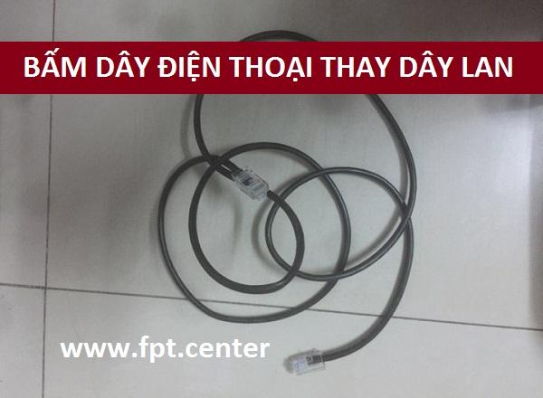 Hướng Dẫn Bấm Đầu Dây Điện Thoại Thay Cho Dây Cáp Mạng LAN