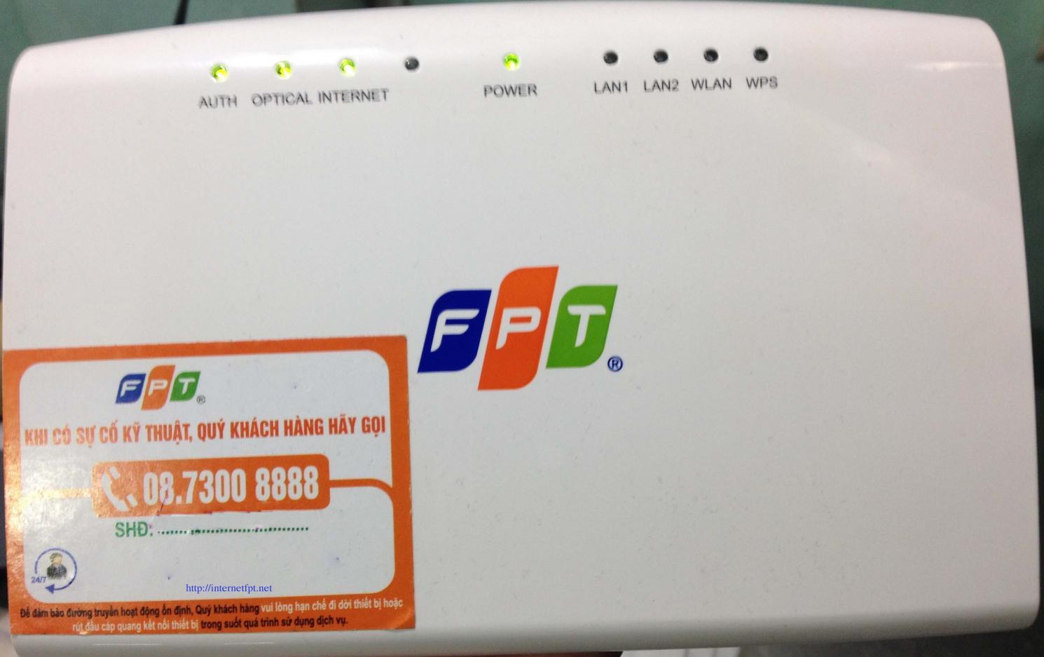 Hướng dẫn cài đặt đổi mật khẩu Wifi modem G97RG3 của FPT telecom