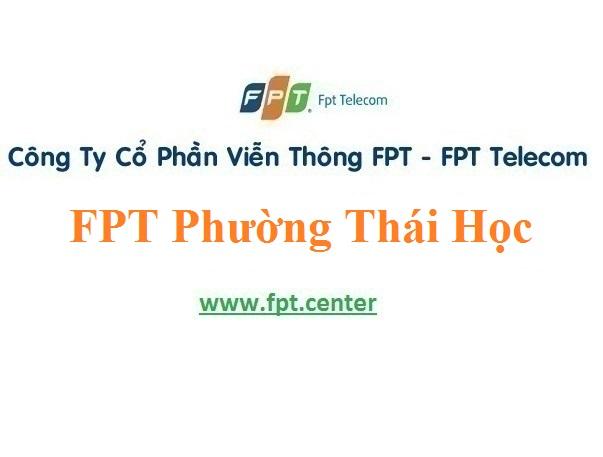 Lắp Đặt Mạng FPT Phường Thái Học ở Chí Linh Hải Dương