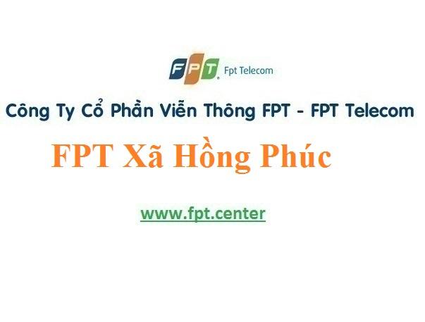 Lắp Đặt Mạng FPT Xã Hồng Phúc Ở Huyện Ninh Giang Tỉnh Hải Dương