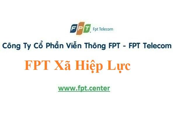 Lắp Đặt Mạng FPT Xã Hiệp Lực ở huyện Ninh Giang Tỉnh Hải Dương