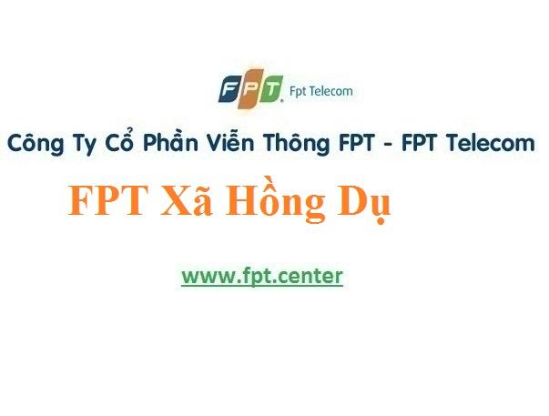 Lắp Đặt Mạng FPT Xã Hồng Dụ Tại Huyện Ninh Giang tỉnh Hải Dương