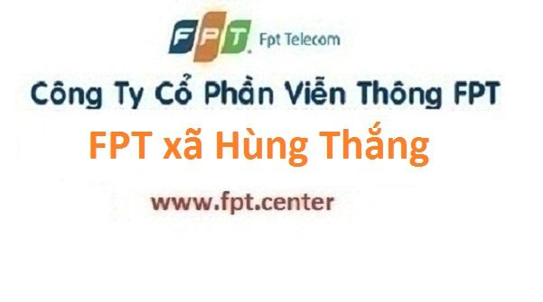 Lắp đặt internet FPT xã Hùng Thắng huyện Bình Giang