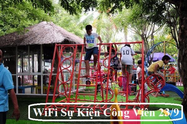 Cung Cấp WiFi Sự Kiện Tại Công Viên 23 Tháng 9