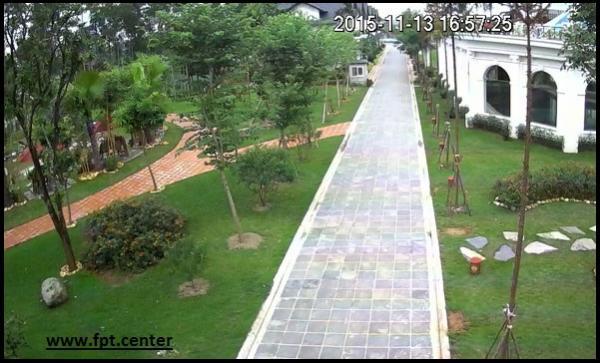 Lắp đặt camera quan sát cho Khu Du Lịch Vui Chơi Giải Trí