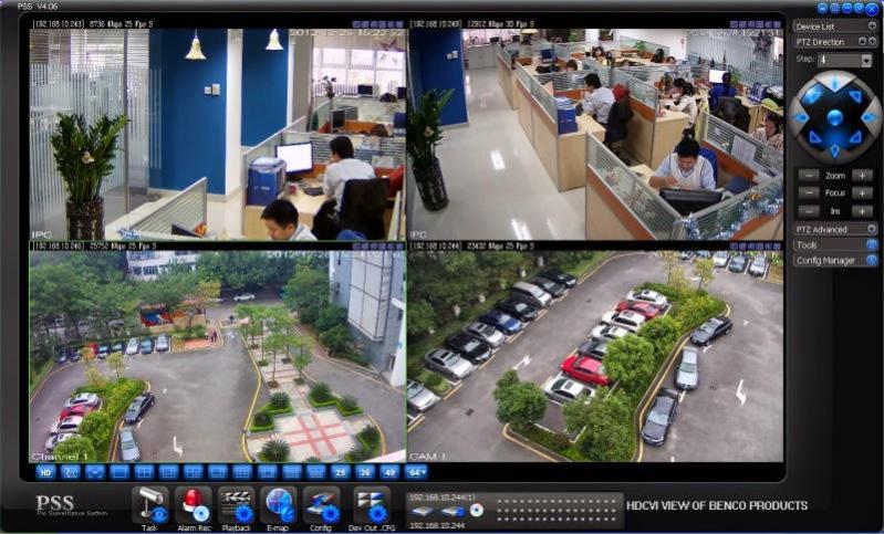 Lắp đặt camera giám sát Khu Công Nghiệp - KCN