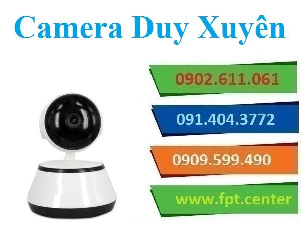 Lắp đặt camera huyện Duy Xuyên giám sát chống trộm