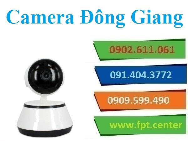 Lắp đặt camera huyện Đông Giang theo dõi an ninh