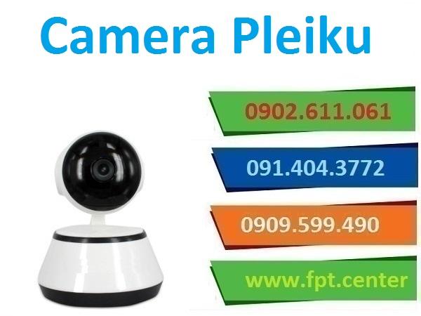 Lắp đặt camera Pleiku quan sát an ninh giá rẻ
