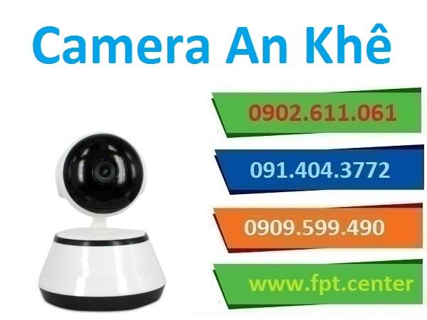 Lắp đặt camera thị xã An Khê giám sát an ninh