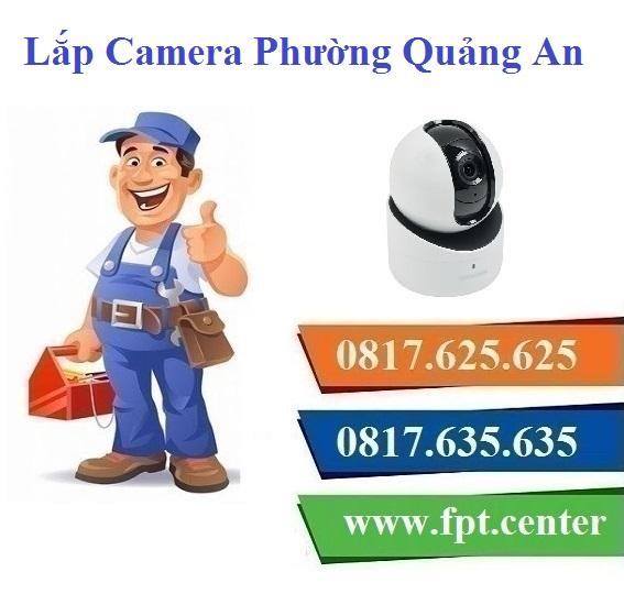 Lắp Đặt Camera Quan Sát Ở phường Quảng An Tại Quận Tây Hồ