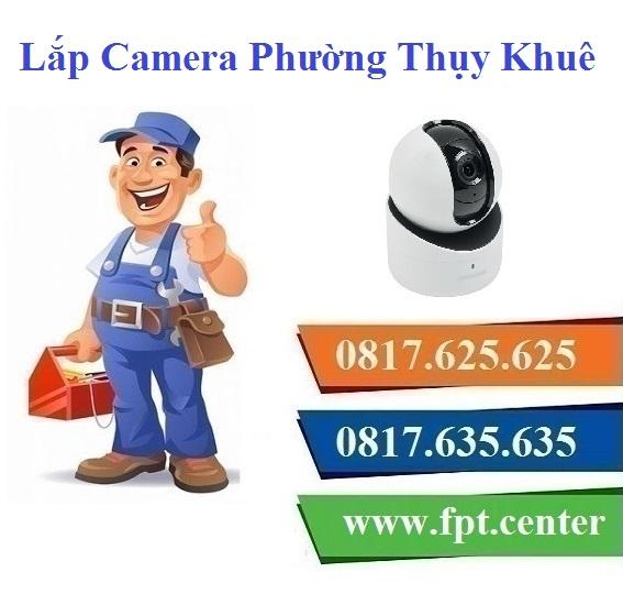 Lắp Đặt Camera Quan Sát Ở phường Thụy Khuê Tại Quận Tây Hồ