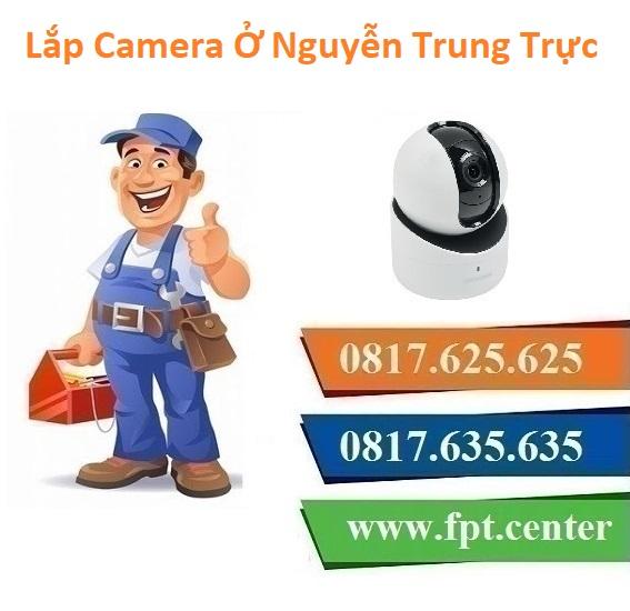Lắp Đặt Camera Quan Sát Ở phường Nguyễn Trung Trực Quận Ba Đình