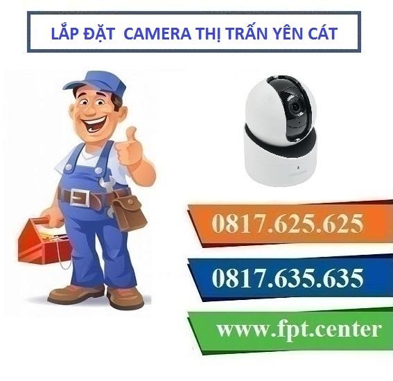 Lắp đặt camera quan sát tại thị trấn Yên Cát