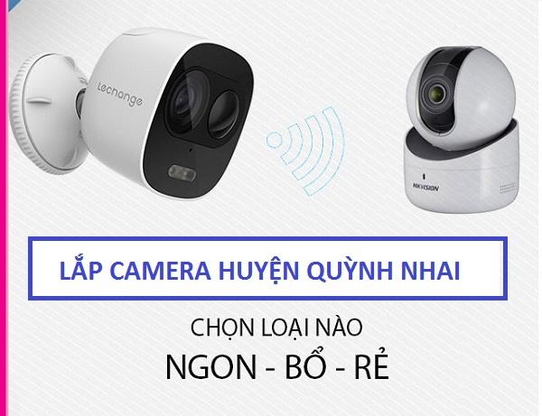 Lắp đặt camera ở tại huyện quỳnh nhai