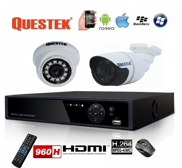 Báo giá lắp đặt trọn gói Camera Questek giá sốc nhất thị trường