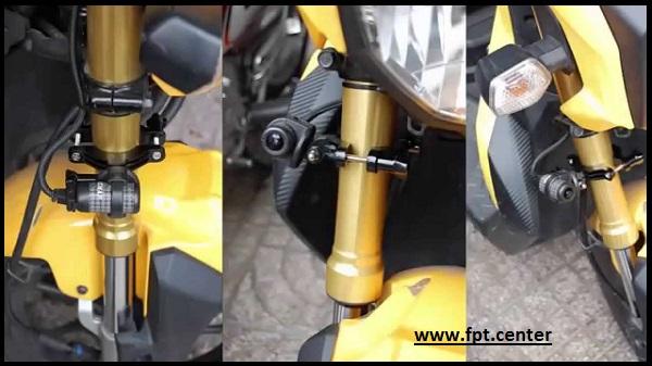 Lợi ích khi lắp camera hành trình cho xe máy mô tô