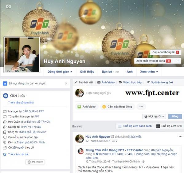Cách Tạo Trang Cá Nhân Chuyên Nghiệp Trên Facebook