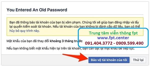 Hướng Dẫn Lấy Lại Mật Khẩu Facebook khi bị đánh cắp tài khoản