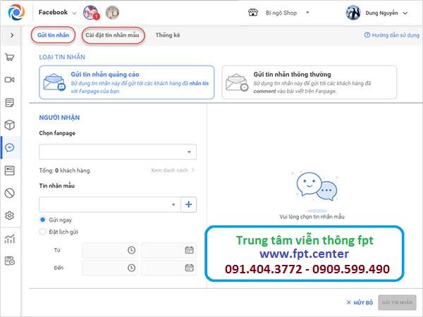 Cách Gửi Tin Nhắn Hàng Loạt Trên Fanpage Facebook để chăm sóc khách hàng