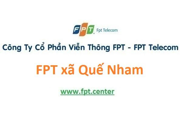 Lắp đặt mạng FPT xã Quế Nham tại Tân Yên giá rẻ