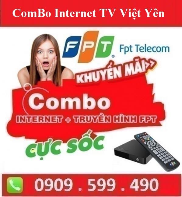 Gói Combo Internet Truyền Hình FPT Huyện Tân Yên