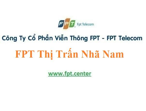Lắp Đặt Mạng FPT Thị Trấn Nhã Nam Ở Huyện Tân Yên Tỉnh Bắc Giang