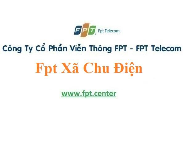 Lắp Đặt Mạng Fpt Xã Chu Điện ở tại khu vực Lục Nam