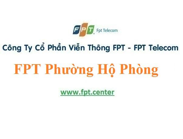 Lắp Đặt Mạng FPT Phường Hộ Phòng Thị Xã Giá Rai tỉnh Bạc Liêu