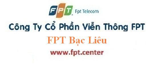 Lắp mạng internet FPT Bạc Liêu