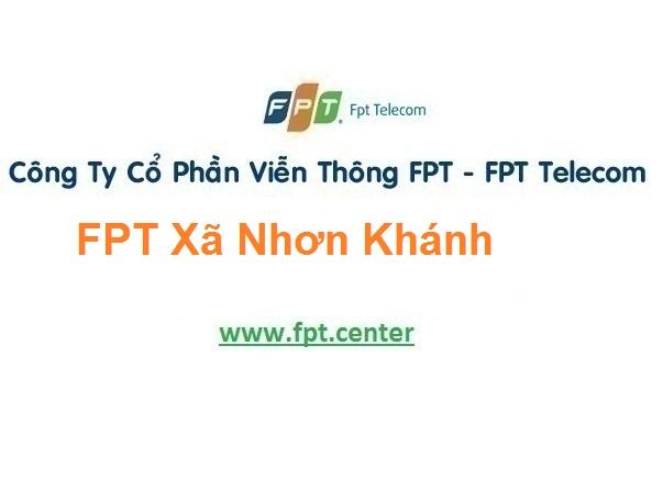 Lắp Đặt Mạng Fpt Xã Nhơn Khánh Ở An Nhơn Bình Định