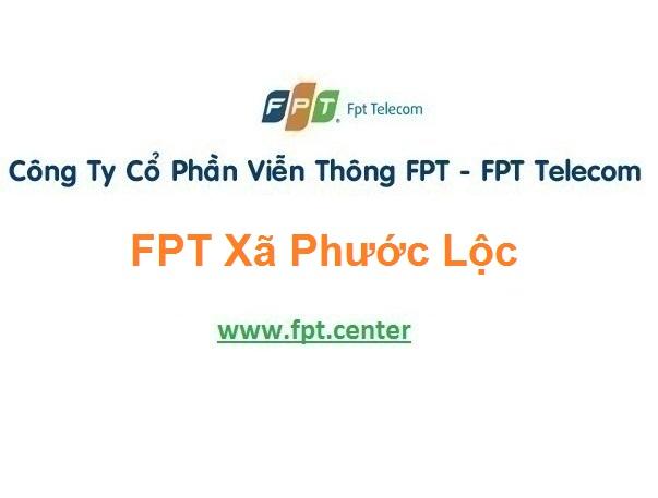 Lắp Đặt Mạng Fpt Xã Phước Lộc Ở Tuy Phước Bình Định