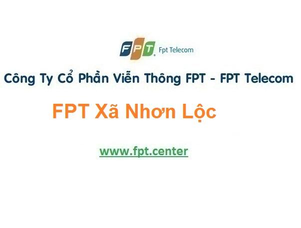 Lắp Đặt Mạng Fpt Xã Nhơn Lộc Ở An Nhơn Bình Định